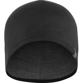 Icebreaker Pocket Gorra, black/gritstone heather